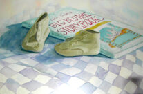 Baby Shoes at Bedtime