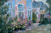 Houses with Flowers