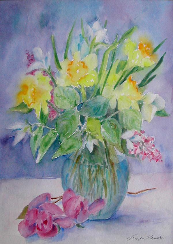 Daffodils & Magnolias