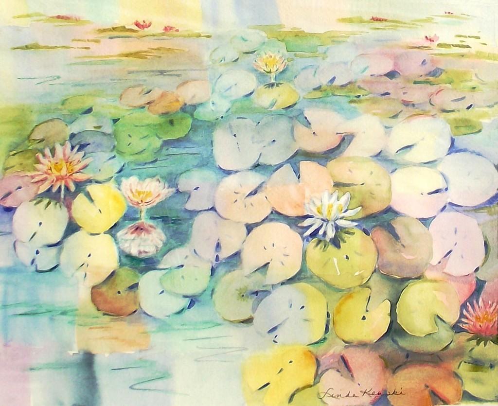 Pacman vs waterlilies 0304