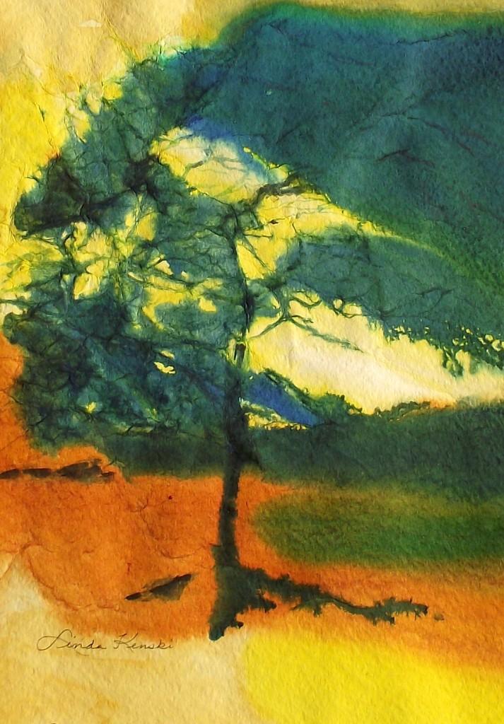 Serengeti sunset acrylic 0313
